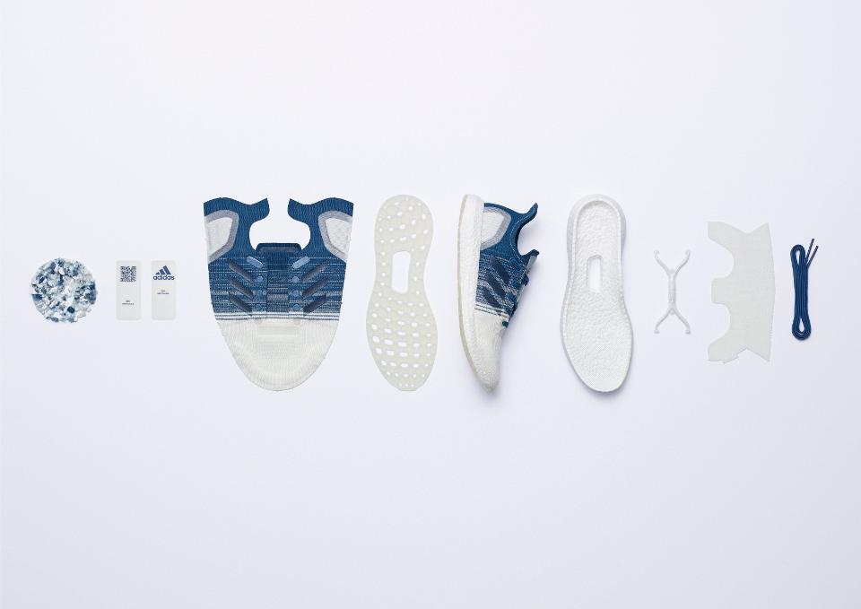 Components of the Futurecraft.Loop Gen 2 Sneaker