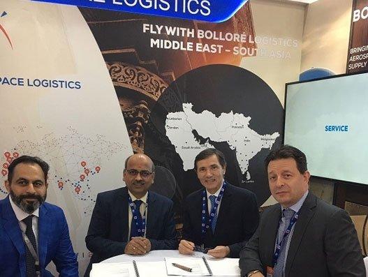 Bolloré Logistics India & CFM sign contract for engine transportation, customs
