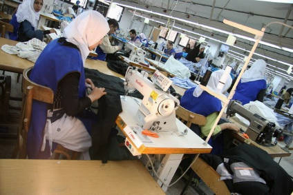 70% of African clothing exports come from Morocco, Tunisia and Egypt