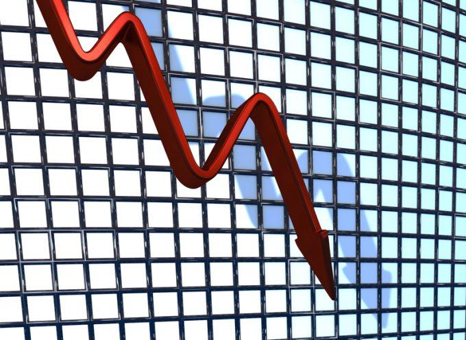 Red Chart Falling