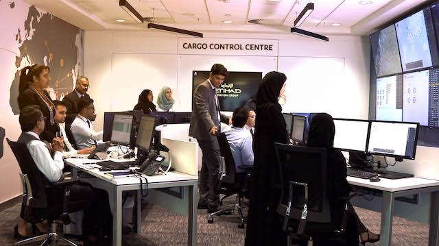 Etihad Cargo Control Centre
