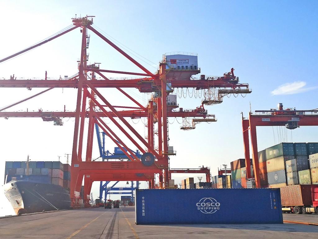 Adriatic Gate Container Terminal, ICTSI's subsidiary at the Port of Rijeka, Croatia