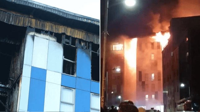 Managers of student halls ravaged by flames have been reprimanded in the past for fire safety breaches