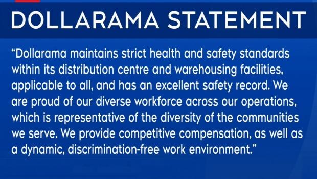 Dollarama statement