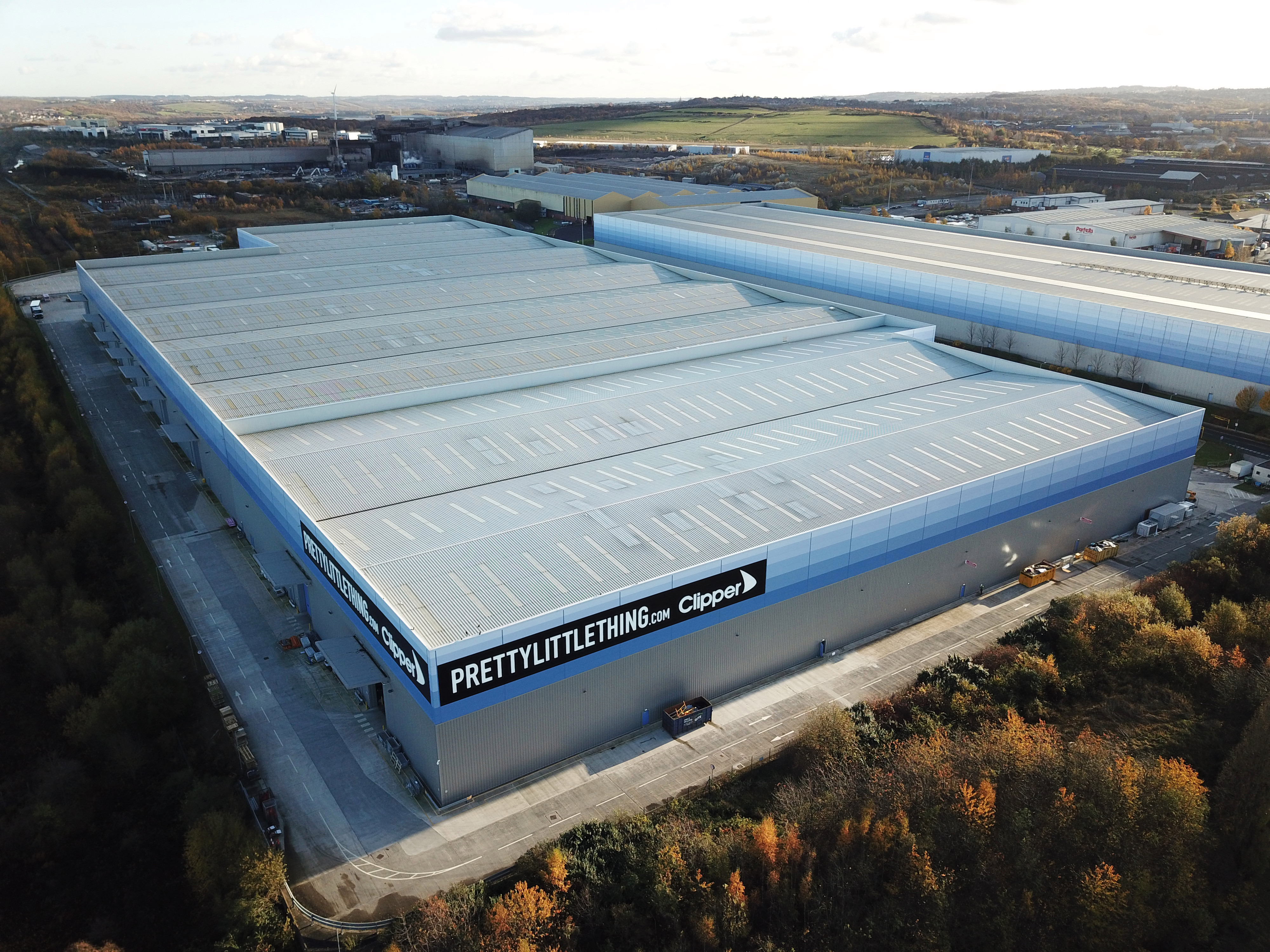 The PrettyLittleThing mega-warehouse