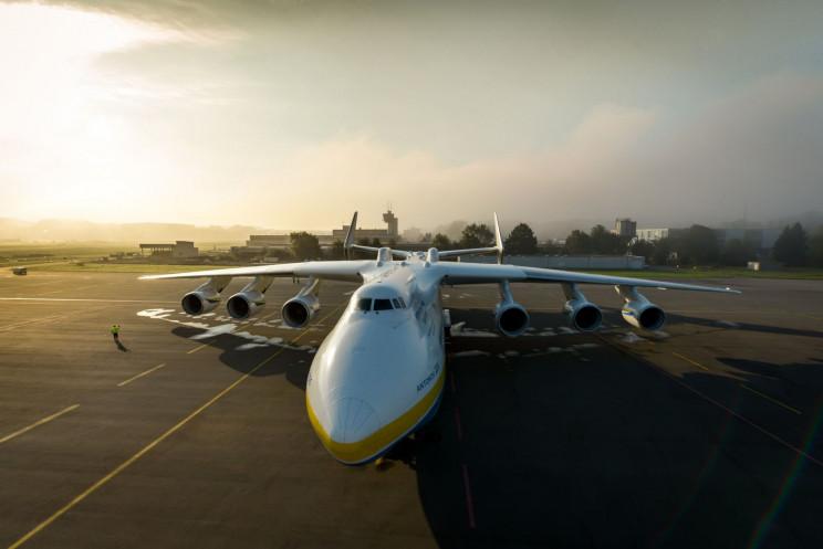 Antonov An-225 top view