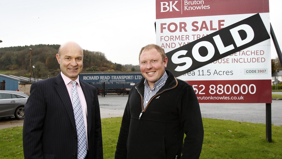 Business park earmarked for former warehouse and transport depot