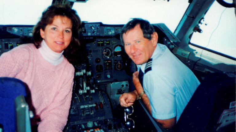 Susan and Paul Rebscher, seen in a photo