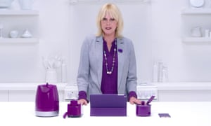Joanna Lumley in a Utility Warehouse advert.