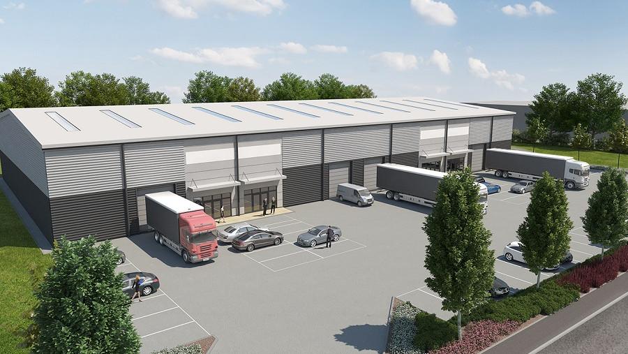 Work underway on industrial warehouse scheme